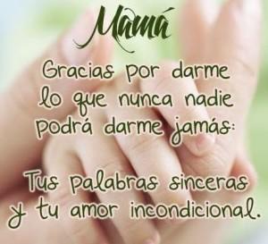 frases para una madre gracias