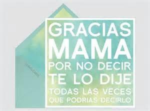 frases para una madre gracias mama
