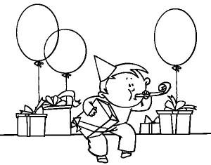 imágenes de cumpleaños para colorear