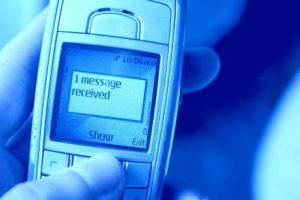 sms de amor recibido